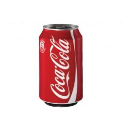 Frisdrank Coca-Cola reg 0,33l blik/pk 24