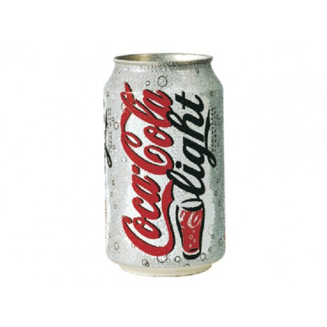 Frisdrank Coca-Cola lgt 0,33L blik/pk 24