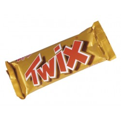 Chocoladereep Twix/pak 25
