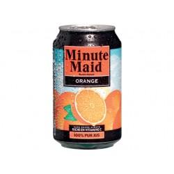 Frisdrank MinuteMaid orange bl0,33L/pk24