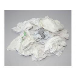 Poetsdoek 50x50cm katoen wit/pak 1kg