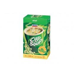 Soep Cup-a-soup Unox erwten/doos 24