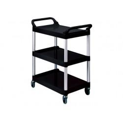 Werkwagen Rubbermaid X-tra Cart zwart