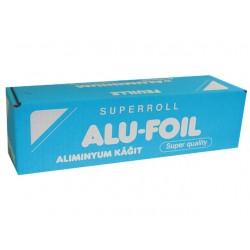 Aluminiumfolie 11mu 30cm breed/rol 150m
