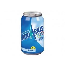 Frisdrank Aquarius lemon 0,33L blik/24