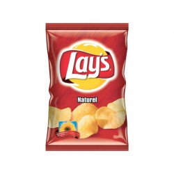 Chips Lay's naturel/doos 8x175gram