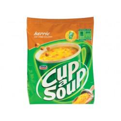 Soep Cup-a-soup kerrie 40port/pk 492g