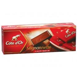 Chocolade Mignonnette melk/ds240gr