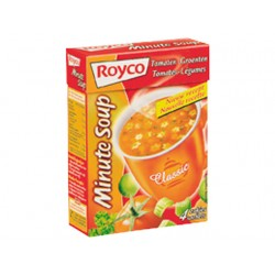 Minute soup Royco Tomaatgroente 200ml/25