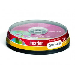 DVD+RW Imation 4.7GB spindle 4x/pak 10