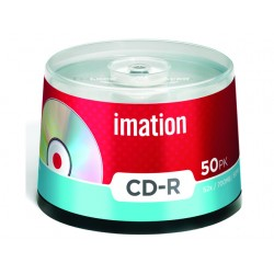 CD rec Imation 80m spindle 52x/pak 50
