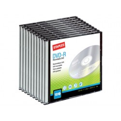 DVD-R SPLS 16x slimline/pak 10
