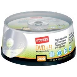 DVD+R SPLS 16x cakebox / doos 25