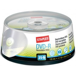 DVD-R SPLS 16x cakebox / doos 25