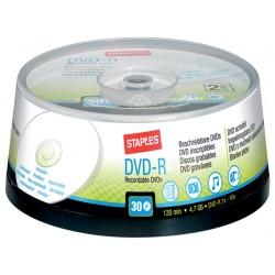 DVD-R SPLS 4.7Gb Printable/pak 30