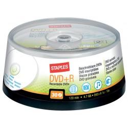 DVD+R SPLS 4.7Gb Printable/pak 30