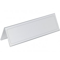 Tafelnaambord Durable 65x210mm