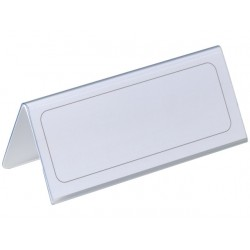 Tafelnaambord Durable 63x150mm