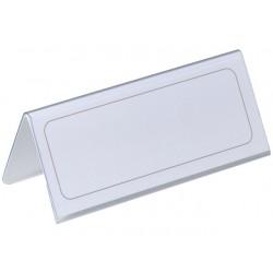 Tafelnaambord Durable 63x150mm