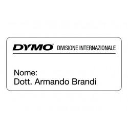 Etiket Dymo LW 89x41 naambadge wit/rl300