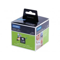 Etiket Dymo LW 70x54 diskette wit/rol320