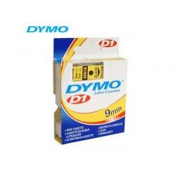 Tape Dymo 40918 9mm zwart/geel