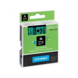 Tape Dymo 40919 9mm zwart/groen