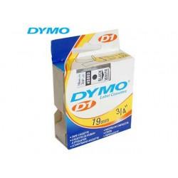 Tape Dymo 45803 19mm zwart/wit