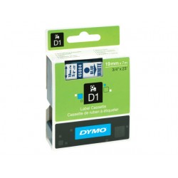 Tape Dymo 45804 19mm blauw/wit