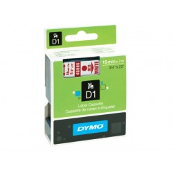 Tape Dymo 45805 19mm rood/wit