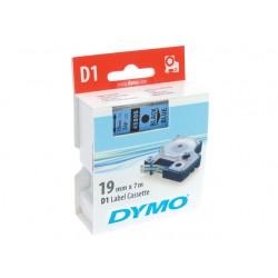 Tape Dymo 45806 19mm zwart/blauw