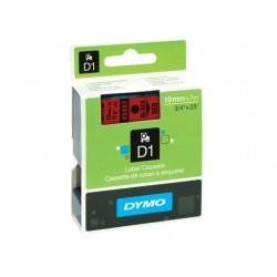 Tape Dymo 45807 19mm zwart/rood