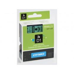 Tape Dymo 45809 19mm zwart/groen