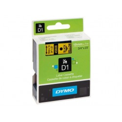 Tape Dymo 45019 12mm zwart/groen