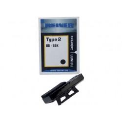 Inktkussen Colorbox2 Reiner B6/B6K zwart