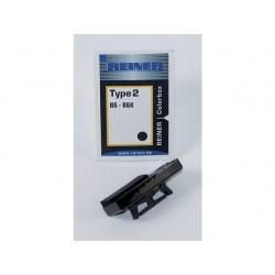 Inktkussen Colorbox 2 Reiner B6/B6K rood