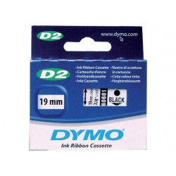 Tape Dymo 6000/9000/pc10 19mm zwart