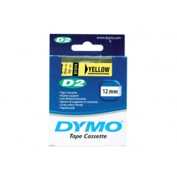 Tape Dymo 61214 12mm geel