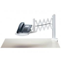 Telefoonarm met schaarmechaniek