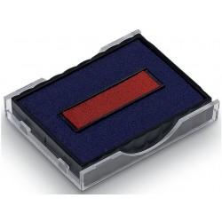 Inktkussen Colop E/4750/2 rood/blauw/p2