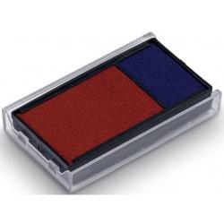 Inktkussen Trodat 6/4912 rood/blauw/pk 2