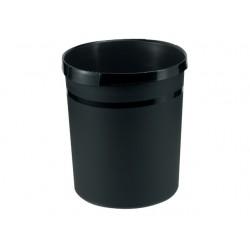 Prullenbak Han kunststof rond 18l zwart