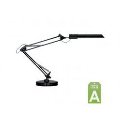 Bureaulamp Unilux Swingo met voet zwart