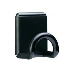 Kledinghaak Unilux magnetisch zwart