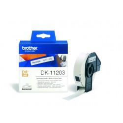 Etiket P-Touch 87x17mm die cut/rol 300