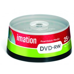 DVD-RW Imation 4.7 gb spindle/doos 25