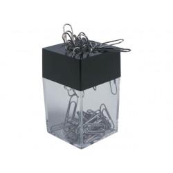 Paperclipdispenser budgetline tr/zwart