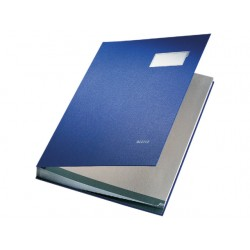 Sorteermap Leitz A4 20 vakken PP blauw
