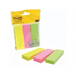 Pagemarker Post-It 25x76mm/pak 3 x 100