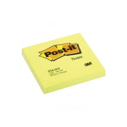Notitieblok Post-It 76x 76mm neon gl/pk6